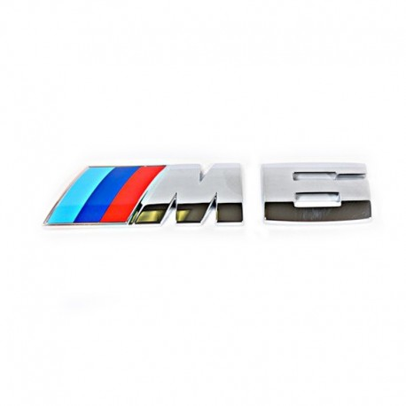 Emblema M6 spate portbagaj BMW