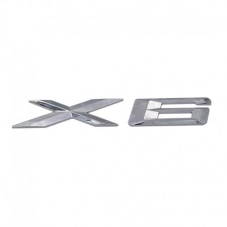 Emblema X6 spate portbagaj BMW