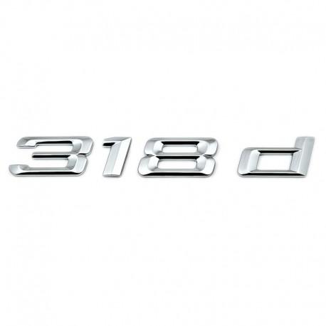 Emblema 318d pentru spate portbagaj BMW
