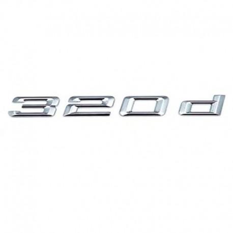 Emblema 320d pentru spate portbagaj BMW