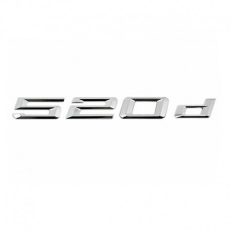 Emblema spate portbagaj 520d pentru BMW