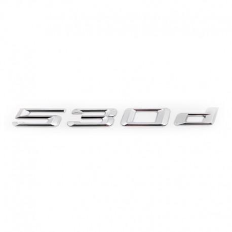 Emblema spate portbagaj 530d pentru BMW