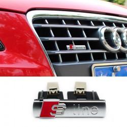 Emblema AUDI S-line 3D grila fata