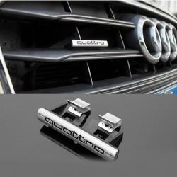 Emblema Audi Quattro grila fata