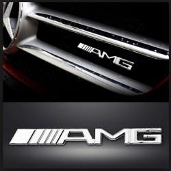 Emblema Mercedes AMG fata