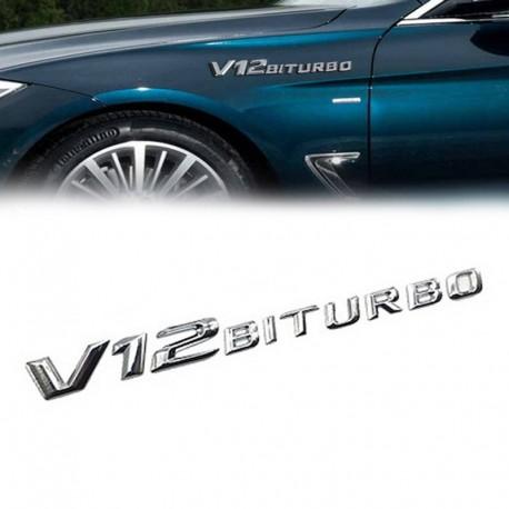 Embleme Mercedes V12 Biturbo aripa