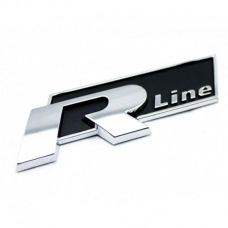 Emblema VolksWagen R Line spate