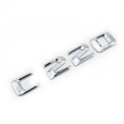 Emblema C220 pentru spate portbagaj Mercedes
