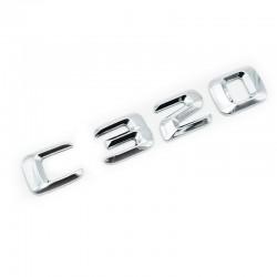 Emblema C320 pentru spate portbagaj Mercedes