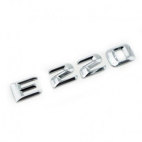 Emblema E220 pentru spate portbagaj Mercedes