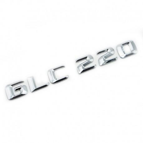 Emblema GLC 220 pentru spate portbagaj Mercedes