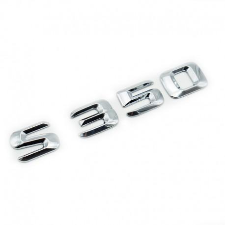Emblema S350 pentru spate portbagaj Mercedes