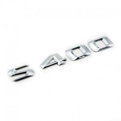 Emblema S400 pentru spate portbagaj Mercedes