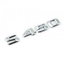 Emblema S450 pentru spate portbagaj Mercedes