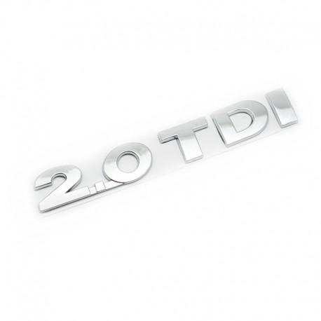 Emblema Volkswagen 2.0 TDI spate
