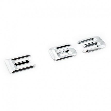 Emblema E63 pentru spate portbagaj Mercedes