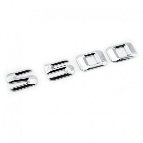 Emblema S 500 pentru spate portbagaj Mercedes