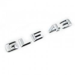 Emblema GLE 43 pentru spate portbagaj Mercedes