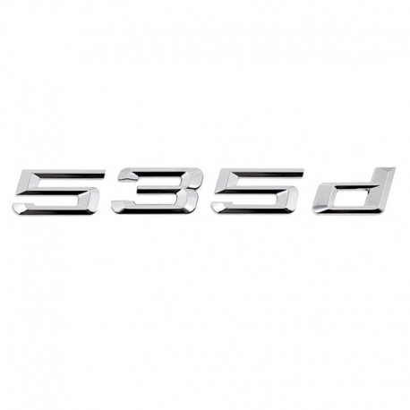 Emblema spate portbagaj 535d pentru BMW