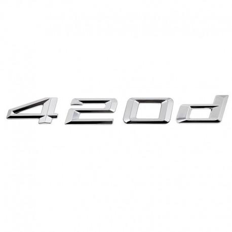 Emblema spate portbagaj 420d pentru BMW