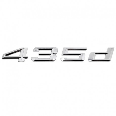 Emblema spate portbagaj 435d pentru BMW