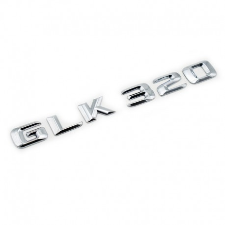 Emblema GLK 320 pentru spate portbagaj Mercedes