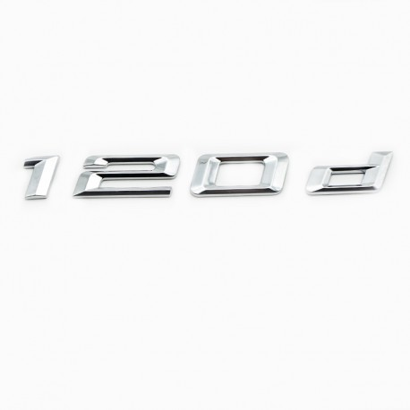 Emblema spate portbagaj 120d pentru BMW