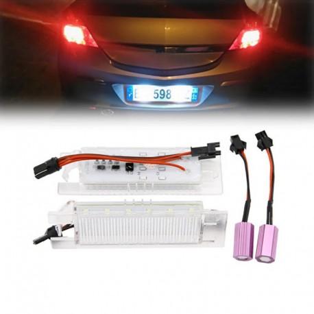 Lampi led numar pentru Opel Astra H, Zafira B, Corsa D, Insignia