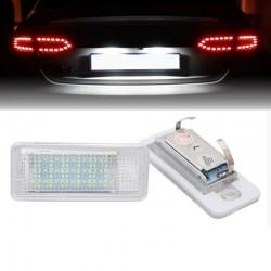 set lampi led numar pentru Audi A3,A4,A6,A8,Q7