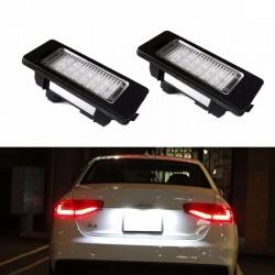 Set lampi led numar pentru Audi A1,A3,A4,A5,A6,A7,Q3,Q5,TT