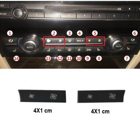 Set capac buton clima,Ventilator BMW F07 F10 F11 F18 F06 F12 F13 F01 F02 F03 F04