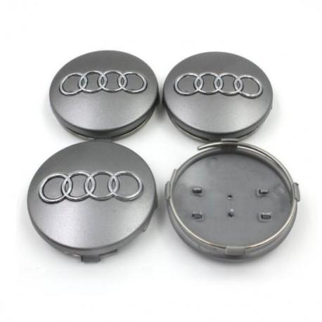 Set 4 capacele roti 68mm, pentru jante aliaj Audi