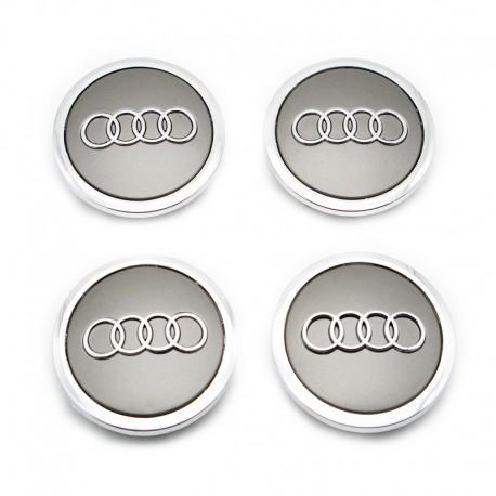 Set 4 capacele roti 69mm, pentru jante aliaj Audi