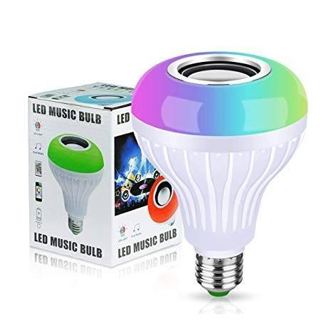 Bec led Smart cu difuzor,12W, dulie normala,Bluetooth,telecomanda, AC220V