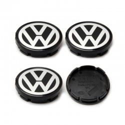 Set 4 capacele roti 55mm , pentru jante aliaj Volkswagen