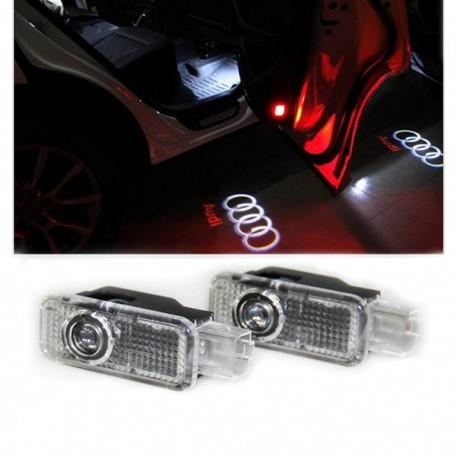 Proiectoare Logo Audi,Lampi Led Portiera Audi A3 A4 A5 A6 A8 Q3 Q5 Q7
