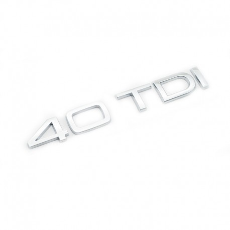 Emblema 4.0 TDI Audi spate portbagaj
