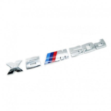 Emblema spate portbagaj BMW X6M 50d