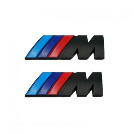 Set embleme M pentru aripi BMW, culoare negru matt