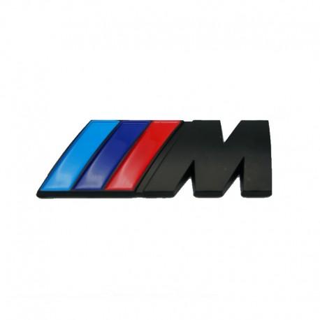 Emblema M power spate portbagaj BMW, culoare negru matt
