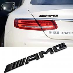 Emblema AMG spate portbagaj Mercedes, culoare negru matt