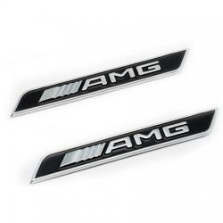 set embleme AMG aripa Mercedes,Negru