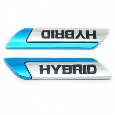 Set embleme Hybrid pentru aripi Toyota