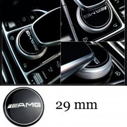Emblema AMG buton multimedia Mercedes