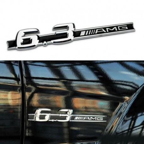 Emblema 6.3 AMG pentru aripa Mercedes