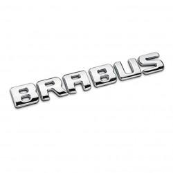 Emblema Brabus pentru spate Mercedes, Chrom