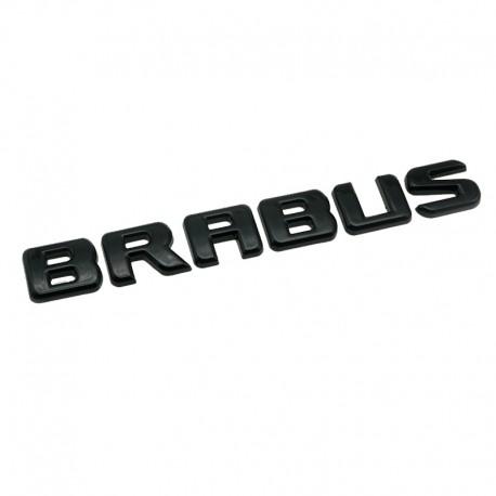 Emblema Brabus pentru spate Mercedes, Negru