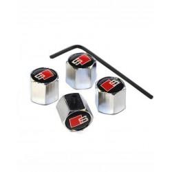 Set 4 capace ventil/valve, Sline Audi,cu antifurt