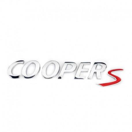 Emblema Cooper S pentru Mini Cooper