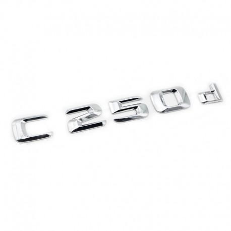 Emblema C 250d pentru spate portbagaj Mercedes